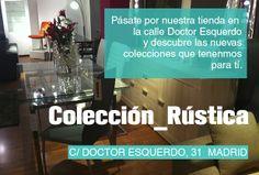 En este caso os presentamos la #colección Rustica, una bonita colección con una calidad increible.