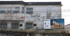 Hospital São Francisco de Assis, da Universidade Federal do Rio de Janeiro, localizado na Avenida Presidente Vargas, 2863, no Centro, em foto de outubro de 2010. Atualmente, funciona com apenas 40% de sua capacidade