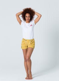 Devilskins Lederhose Yellow - Super Soft Wild Buck Leather #gelbe_Lederhose #Lederhose #Devilskins #moderne_lederhose #Damen_Lederhose