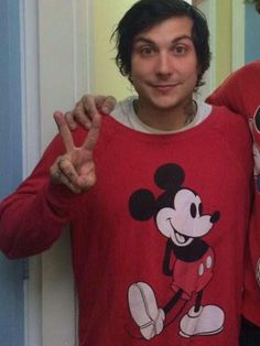 Frank Iero is my favorite person