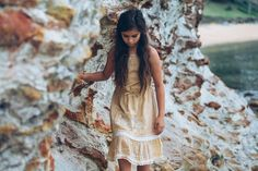 Beautiful summer dress by new Byron Bay designer, 6 White Horses. Beautiful Summer Dresses, Beautiful Outfits, White Horses, Byron Bay, Bohemian, People, Design, Style, Fashion