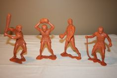 1960's Marx Cavemen Toys. Bought on the 127 in 2013, recently sold on eBay.