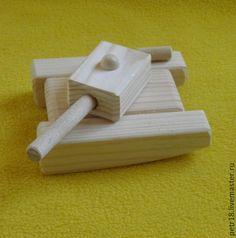 Купить Танки 2-х видов - дерево, игрушки, деревянные игрушки, натуральные материалы