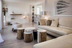 rustic modern decor — Unique Hardscape Design