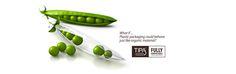 Bean's peel keeps the food inside it fresh until it's eaten, and then breaks down harmlessly into nutrients that benefit the soil. TIPA's #compostable #packaging works the exact same way.