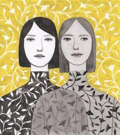 icono Cero: La templanza de la mujer en las ilustraciones de Monica Garwood.