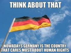 Looking at you USA… Germany learned from their mistakes, will America ever learn from theirs??