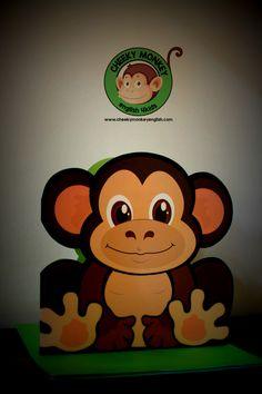 Monkey postcard #CME4K