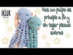Crochet Eyes, Cute Crochet, Crochet Toys Patterns, Stuffed Toys Patterns, Crochet Hooded Scarf, Crochet Octopus, Amigurumi Tutorial, Easy Stitch, Amigurumi Doll