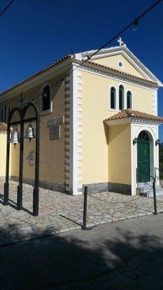 Church, Barbati Corfu