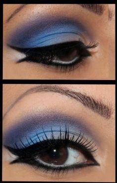 I wish I could get my makeup to look like this...of course, it would probably help if I wore some! LOL