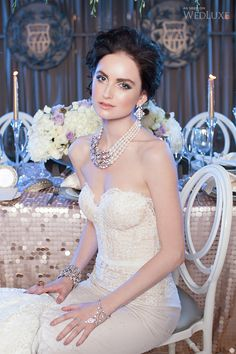 WedLuxe – Lavish Mermaid | Photography By: Ten Over Six Photography  Follow @WedLuxe for more wedding inspiration!