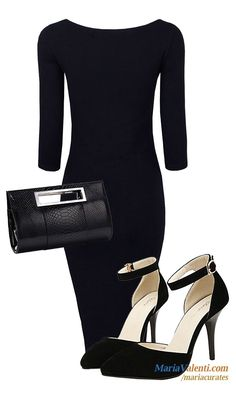 16 must-look bold, black, and gorgeously sexy bodycons and pencil dresses! https://www.mariavalenti.com/marias-list/bold-black-and-sexy-bodycons
