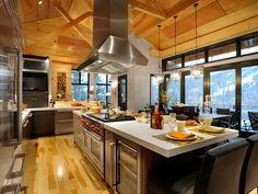 Gorgeous Mountain Dream Home In Vermont | iDesignArch | Interior Design, Architecture & Interior Decorating