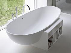 Baignoire ilôt ovale en Korakril™ EGG Collection Unico by Rexa Design | design…