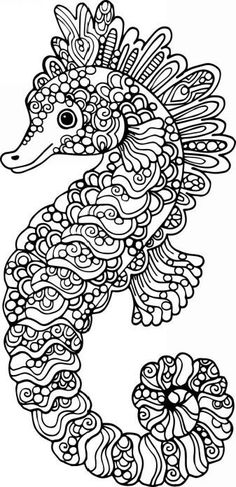 Decorative outline seahorse illustration royalty-free decorative outline seahorse illustration stock vector art & more images of abstract Seahorse Outline, Seahorse Drawing, Mermaid Outline, Vector Hand, Free Vector Art, Quiling Paper Art, Colorful Seahorse, Colouring Pages, Coloring