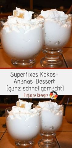 Kokos Desserts, Orange Juice Cake, Pan Sizes, Best Cake Recipes, Dessert Cups, Cookie Crumbs, Cake With Cream Cheese, Eclairs, Cake Ingredients