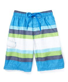 Another great find on #zulily! Blue Ultimate Swim Trunks #zulilyfinds