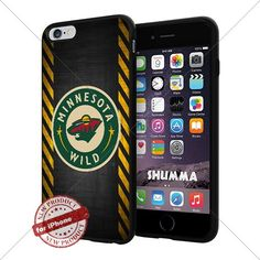 "NHL Minnesota Wild Cool iPhone 6 Plus (6+ , 5.5"") Smartphone Case Cover Collector iphone TPU Rubber Case Black SHUMMA http://www.amazon.com/dp/B013NN9CAE/ref=cm_sw_r_pi_dp_i-Opwb1E5Y6G3"