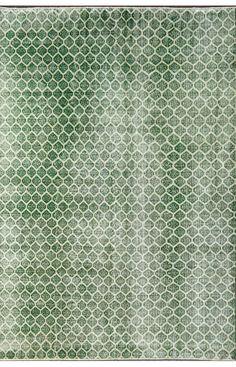 Vendimia Rugs Overdye ACC643 Green Rug | Traditional Rugs