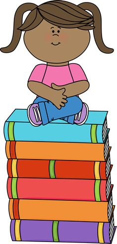 Image result for library books in elementary school clipart