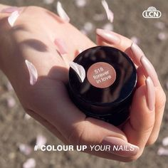"Colour up your nails! We start the week with ""forever in love"" Colour Gel. We wish you a happy #manimonday and a great start to the week! #LCN #ColourUpYourNails #rose #love #forever #nails #manicure #Cherry #spring #nailpolish"