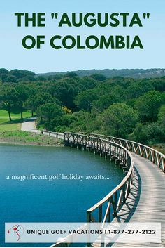 After a couple days of sight-seeing and acclimating yourself to such an exotic place in the mountains, you'll finally be able to see what Colombia offers when it comes to golf. #uniquegolfvacations #golf #colombia #golfholidays