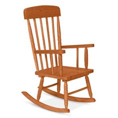 Ababy SuperSavers   Kid Sized Spindle Rocking Chair   Designed To Capture  The Look And Essence