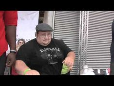 """VIDEO: First Birmingham Salvation Army National Pie Eating Championship, featuring No. 1 ranked eater Eric """"Silo"""" Dahl."""