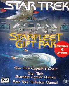 The Star Trek Starfleet Gift Pak is a gift pack of four CDs that will thrill the avid Star Trek...