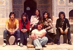 Iranian University Students in the 1970s.