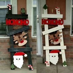 Hey, I found this really awesome Etsy listing at https://www.etsy.com/listing/253784140/christmas-ladder-kitset