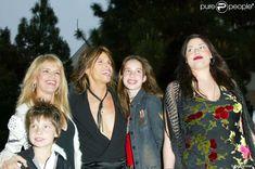 Awesome Steven Tyler and Family Mia Tyler, Steven Tyler, Chelsea, Teresa, Old Rock, Aerosmith, Old Things, Stars, Children