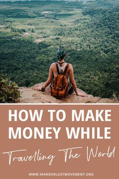 Want to stay on the road for longer? You need to ditch your desk and use your skills and knowledge to make money online. When you can earn an income from your laptop, you can travel the world as much as you'd like whenever you want. Click to read the 10 ways you can start making money online and become a full-time digital nomad and location independent! #remotework #digitalnomad #travel #workfromanywhere #locationindependent Travel Jobs, Travel Advice, Travel Guides, Travel Hacks, Budget Travel, Online Travel, Digital Nomad, Ultimate Travel, Best Vacations