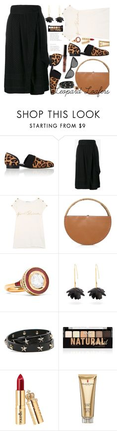 """""""Leopard Loafers!"""" by marialibra ❤ liked on Polyvore featuring Loewe, CECILIE Copenhagen, WAIWAI, Alice Cicolini, Marni, RED Valentino, Victoria, Victoria Beckham, NYX and Elizabeth Arden"""