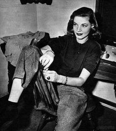 Lauren Bacall, 1945