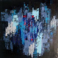 Goodmorning heartache, schilderij van Lian de Zwaan | Abstract | Modern | Kunst