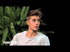 ▶ Between Two Ferns with Zach Galifianakis: Justin Bieber - YouTube  this is the funniest most awkward thing i have ever seen!!