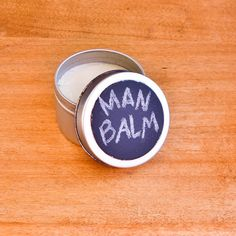 All-in-one man balm. Great gift for him. Can be used on dry, cracked hands or as pomade for perfect hair!