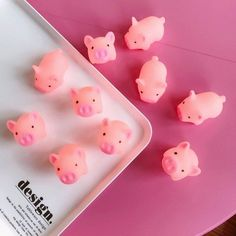 Universe of goods - Buy Piece Squeeze Pig Mochi Squishy Kawaii Animal Slow Rising Squishy Toy Anti-strss Practical Jokes Kids Squishies Cute Toy for only USD.