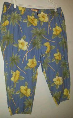 Caribbean Joe - woman's, plus size 20w, Capris. Stylish and comfortable!  #CaribbeanJoe #CaprisCropped