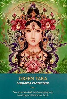 Tara Goddess, Divine Goddess, Green Tara, Oracle Tarot, Psychic Mediums, Angel Cards, Psychic Readings, Angel Readings, Gods And Goddesses