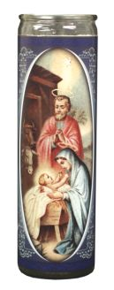 Nativity ~ Fameless candle