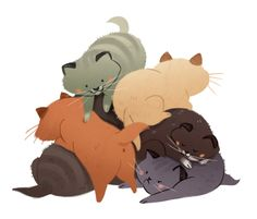 030: Kitten Pile And now for something completely adorable