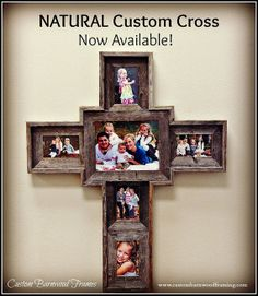 Custom+Barnwood+Cross++Natural+by+CustomFraming+on+Etsy,+$100.00