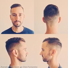 This vintage cut is really in style right now. a good clean hair cut is a great way to show attention to detail when going for the professional look. Prohibition style men's hair cut