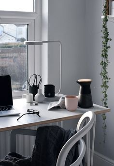 A home-office refresh with the Hairpin Leg Co | These Four Walls blog