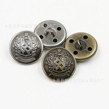 10 stks/partij Accessoires ster knop/Jas/pak overhemd knop/antiek zilver alle koperen metalen knop(China)