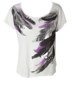 Feathers Shirt $9.99