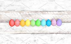 Easter eggs decoration by LiliGraphie on @creativemarket